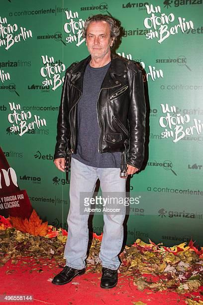 Jose Coronado attends 'Un Otono Sin Berlin' Madrid premiere at Cines Verdi on November 10 2015 in Madrid Spain