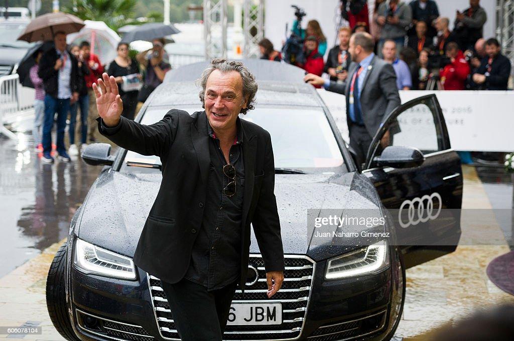 Jose Coronado is seen arriving at 64th San Sebastian Film Festival on September 16, 2016 in San Sebastian, Spain.