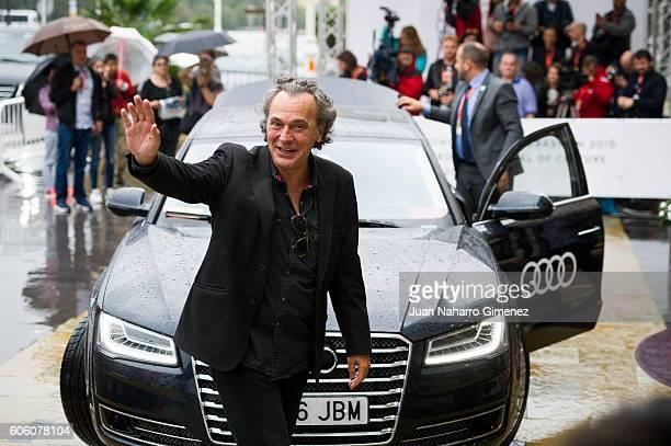 Jose Coronado is seen arriving at 64th San Sebastian Film Festival on September 16 2016 in San Sebastian Spain