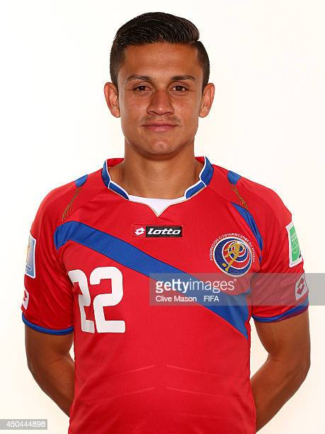 Jose Cubero of Costa Rica poses during the official FIFA World Cup 2014 portrait session on June 10 2014 in Sao Paulo Brazil