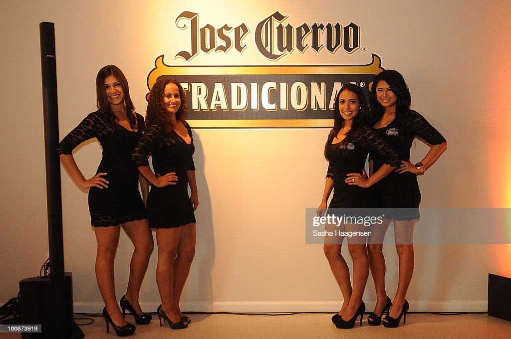 Jose Cuervo Brand Ambassadors during the Jose Cuervo Grand Prize Winner Annoucement party at Centro Cultural Aztlan on April 17, 2013 in San Antonio, Texas.