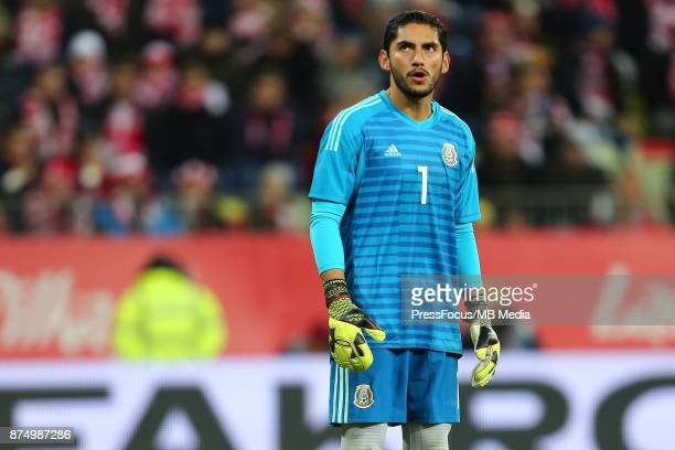 Jose de Jesus Corona of Mexico during the international friendly match between Poland and Mexico on November 13 2017 in Gdansk Poland