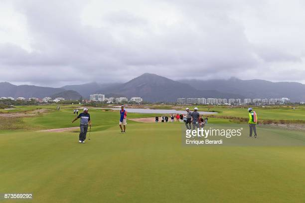 Jose de Jesus Rodriguez of Mexico during the final round of the PGA TOUR Latinoamerica 64 Aberto do Brasil at the Olympic Golf Course on October 15...