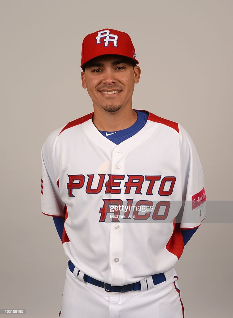 Jose De La Torre #52 of Team Puerto Rico poses for a headshot for the 2013 World Baseball Classic at the City of Palms Baseball Complex on Monday, March 4, 2013 in Fort Myers, Florida.