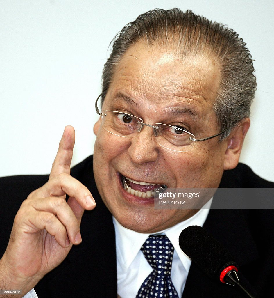 Jose Dirceu former Chief of Cabinet of Brazilian President Luiz Inacio Lula da Silva and deputy testifies before a Lower House ethics comission 27...