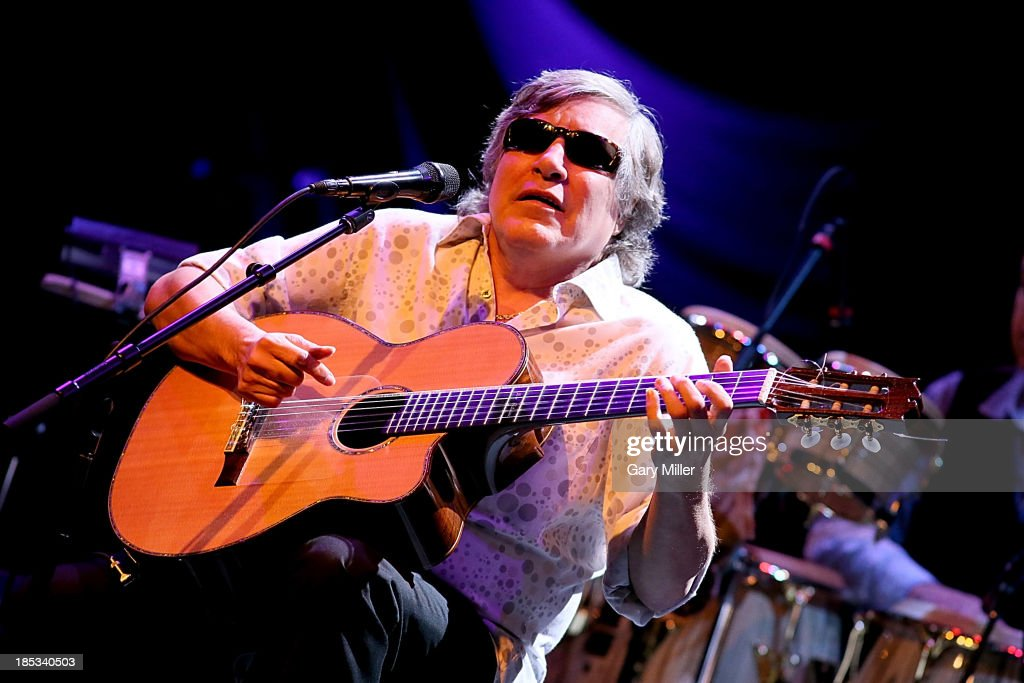 Jose Feliciano performs in concert at One World Theatre on October 18 2013 in Austin Texas
