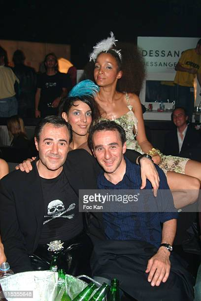 Jose Garcia Elie Semoun and Dancing Girls during 2004 Cannes Film Festival The Ottoniente's People Film Party at Milliardaire Club at the Carlton...