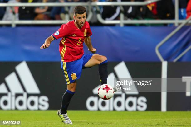 Jose Gaya during the UEFA European Under21 match between Spain and FYR Macedonia on June 17 2017 in Gdynia Poland