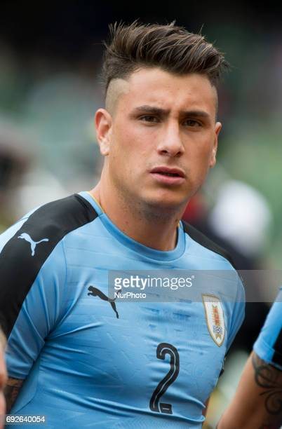 Jose Gimenez of Uruguay pictured before the International Friendly match between Republic of Ireland and Uruguay at Aviva Stadium in Dublin Ireland...