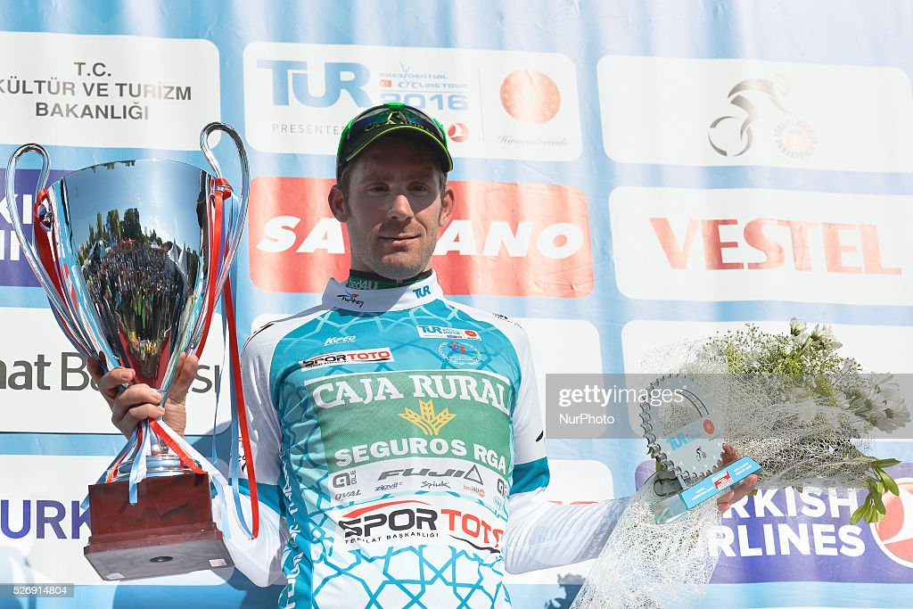 Jose Goncalves, a rider from Caja Rural Seguros RGA, wins the 52nd edition of the Presidential Tour of Turkey 2016. On Sunday, 1 May 2016, in Selcuk, Turkey.