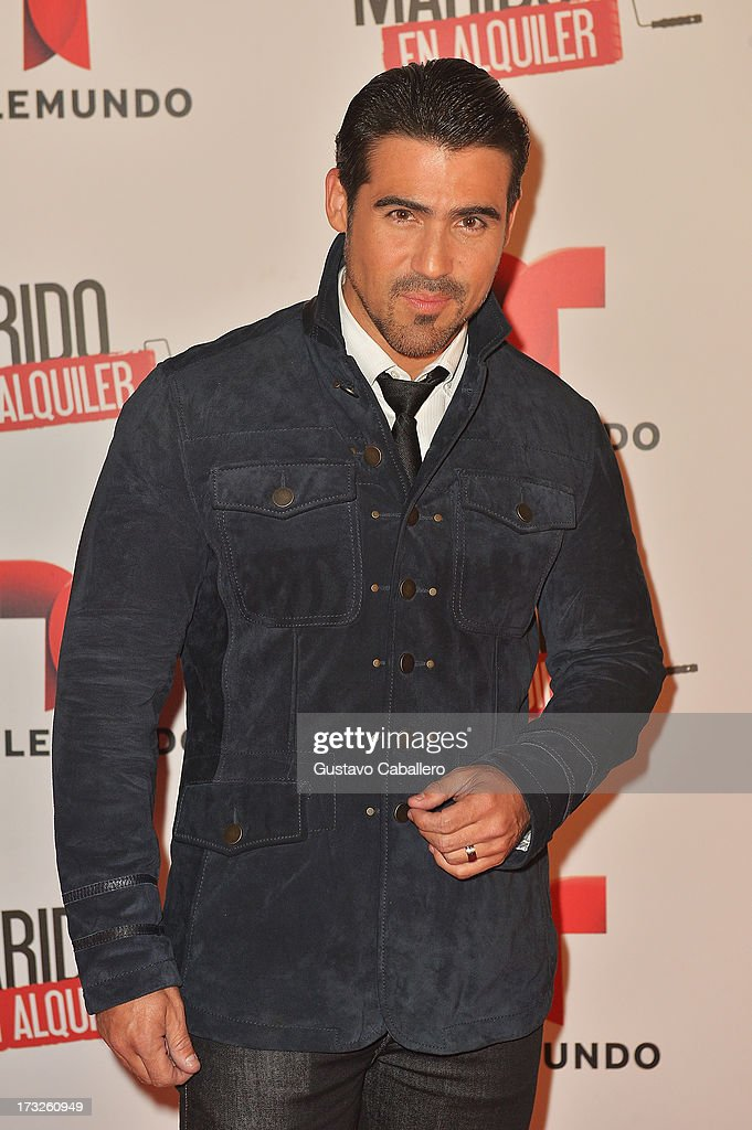 Jose Guillermo Cortines attends Telemundos 'Marido en Alquiler' Presentation on July 10, 2013 in Miami, Florida.