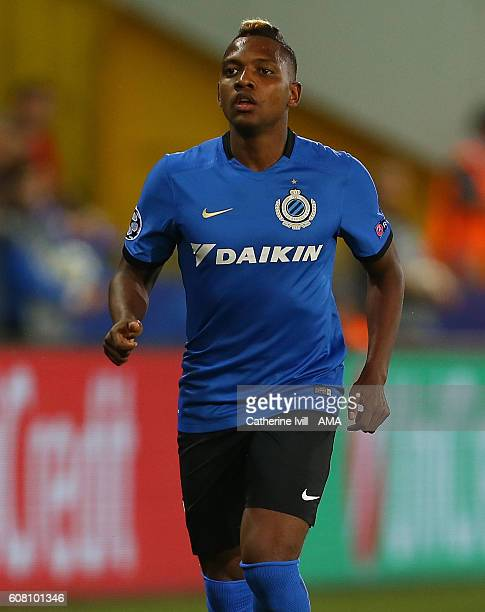 Jose Izquierdo of Club Brugge during the UEFA Champions League match between Club Brugge and Leicester City at Jan Breydel Stadium on September 14...