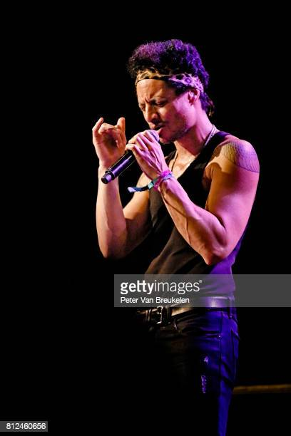 Jose James Performs at North Sea Jazz Festival on Juli 7th 2017 in Rotterdam The Netherlands