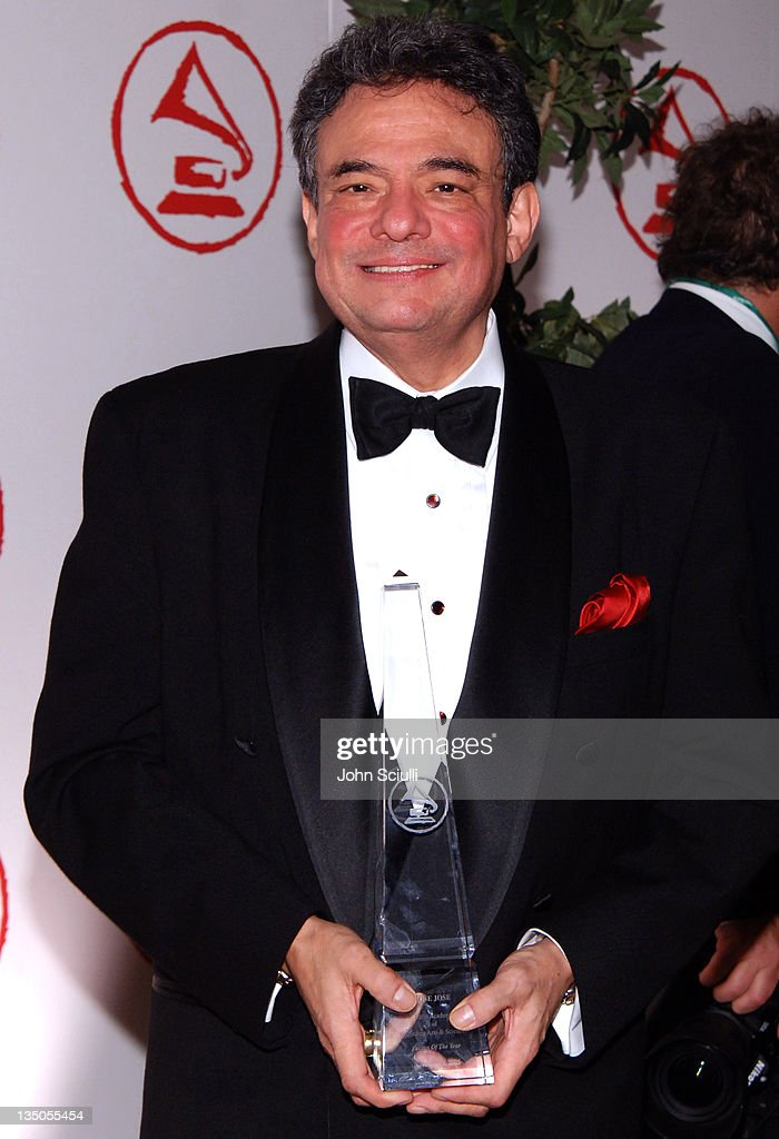 Jose Jose during 2005 Latin Recording Academy Person of the Year Arrivals at Regent Beverly Wilshire in Beverly Hills California United States