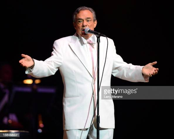 Jose Jose performs at Hard Rock Live in the Seminole Hard Rock Hotel Casino on December 16 2012 in Hollywood Florida