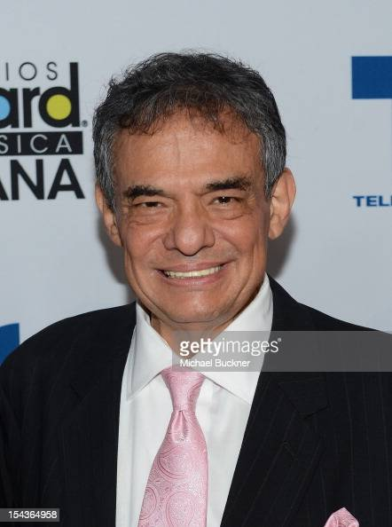 Jose Jose poses for photographers in the press room of the 2012 Billboard Mexican Music Awards Presented by State Farm at The Shrine Auditorium on...