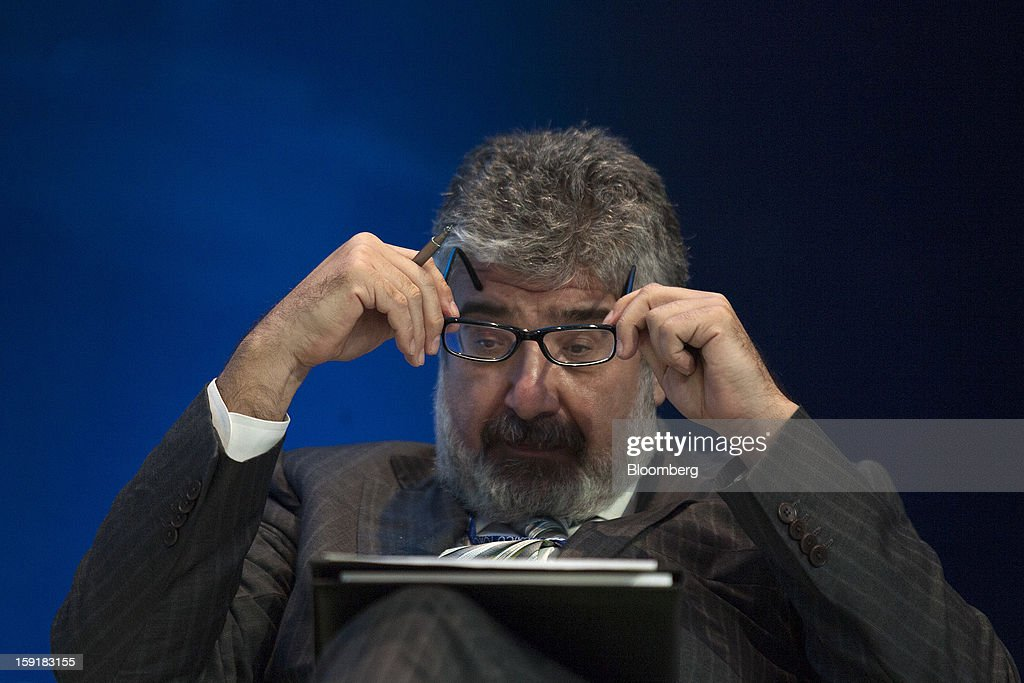 Jose Juan Ruiz Gomez, chief economist and manager of the research department at the Inter-American Development Bank, listens during the Mexico Forum 2013 in Mexico City, Mexico, on Wednesday, Jan. 9, 2013. Mexico's Congress today confirmed Eduardo Medina Mora, the former attorney general and envoy to the U.K., as the nation's next ambassador to the U.S. Photographer: Susana Gonzalez/Bloomberg via Getty Images