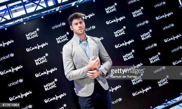 Jose Lamuno attends the Montblanc Presents Charity Collection For UNICEF on April 25 2017 in Madrid Spain