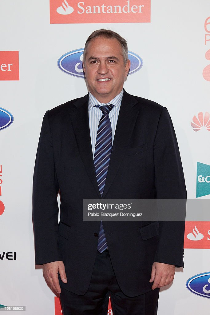 Jose Luis Astiazaran attends 'As Del Deporte' Awards 2012 at The Westin Palace Hotel on December 10, 2012 in Madrid, Spain.