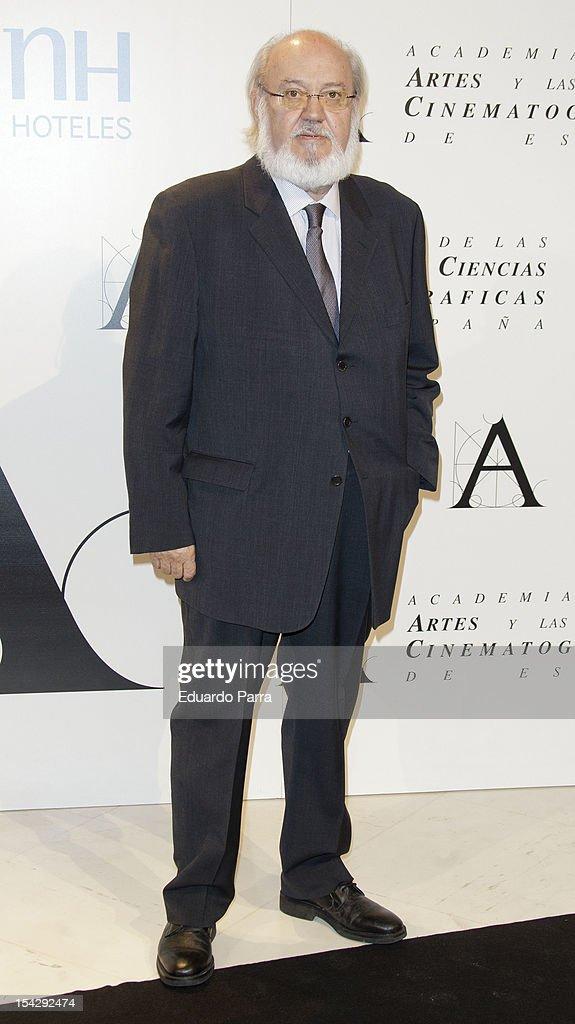 Manuel Gutierrez Aragon Receives Golden Medal Award 2012 - Gala