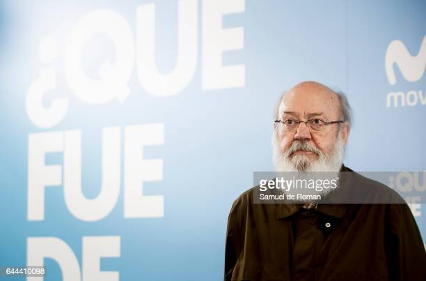 Jose Luis Cuerda during 'Que fue de Jorge Sanz' Madrid Premiere on February 23 2017 in Madrid Spain