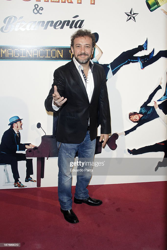 Jose Luis Garcia Perez attends Alex O'Dogherty new album presentation party photocall at La Latina theatre on November 11, 2013 in Madrid, Spain.