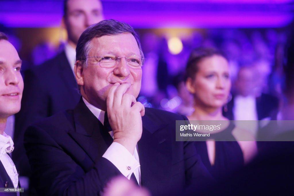 Jose Manuel Barroso attends the Semper Opera Ball at Semperoper on February 7 2014 in Dresden Germany
