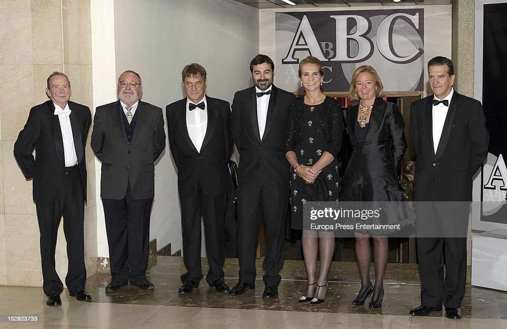 Princess Elena Attends ABC Mariano de Cavia Awards 2012