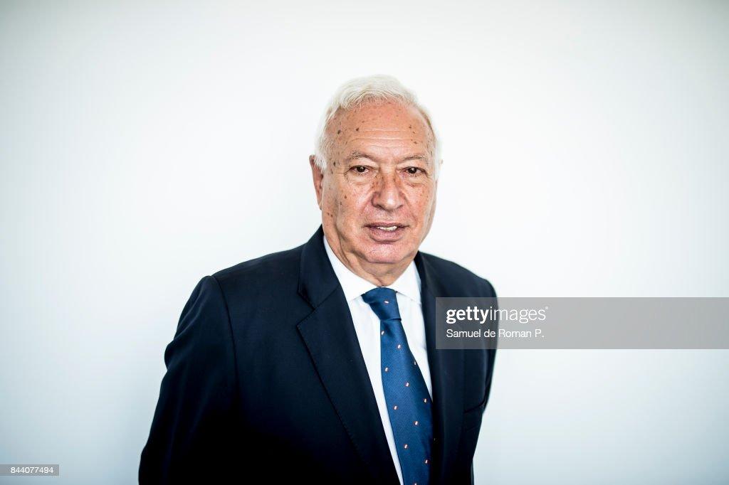 Jose Manuel Garcia-Margallo Portrait Session on September 7, 2017 in Madrid, Spain.