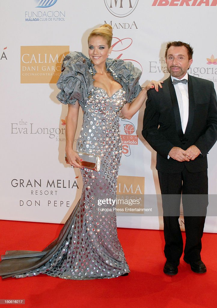 Jose Manuel Parada and Beatriz Trapote attend the Global Gift Gala 2012 a party held by Cesare Scariolo Foundation and Eva Longoria Foundation to...