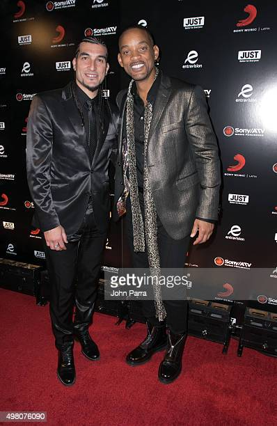 Jose Manuel Pinto and Will Smith attend Sony Music Latin's Official Latin Grammy After Party at XS nightclub at Encore Las Vegas on November 19 2015...