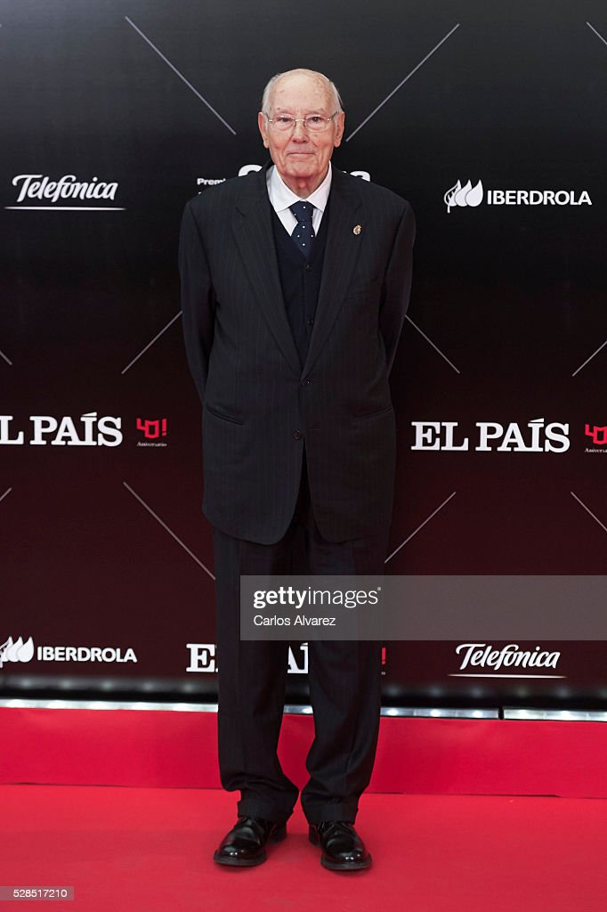 Jose Manuel Romay Beccaria attends 'Ortega Y Gasset' journalism awards 2016 at Palacio de Cibeles on May 05, 2016 in Madrid, Spain.