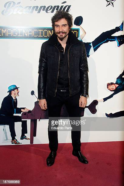 Jose Manuel Seda attends Alex O'Dogherty new album presentation party photocall at La Latina theatre on November 11 2013 in Madrid Spain