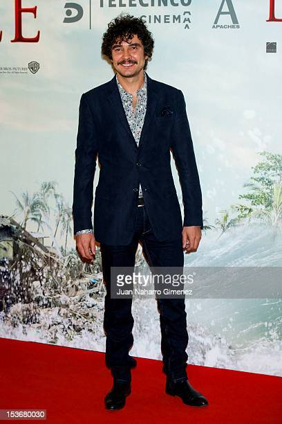 Jose Manuel Seda attends the 'The Impossible' premiere at Kinepolis cinema on October 8 2012 in Madrid Spain