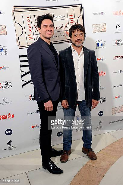 Jose Manuel Seda attends 'XXIII Union de Actores Awards' at Coliseum Theatre on March 10 2014 in Madrid Spain