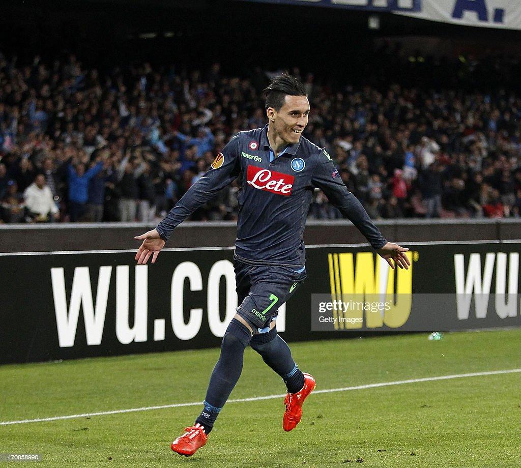 SSC Napoli v VfL Wolfsburg - UEFA Europa League: Quarter Final