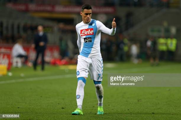 Jose Maria Callejon of Ssc Napoli during the Serie A match between FC Internazionale and Ssc Napoli Ssc Napoli wins 1 0 over Internazionale Fc