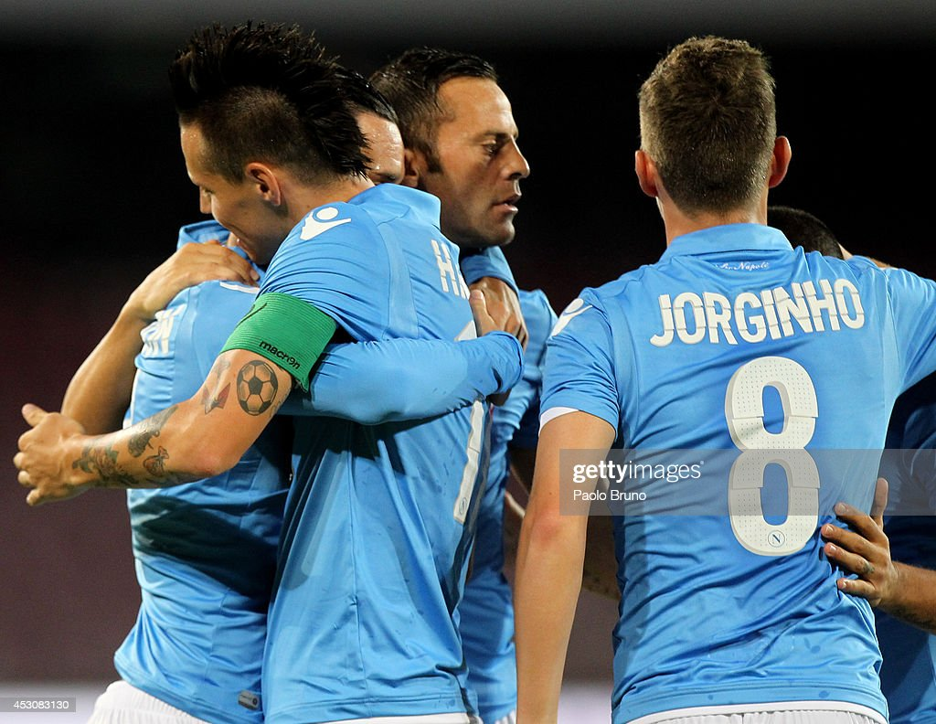 SSC Napoli v PAOK Preseason Friendly s and