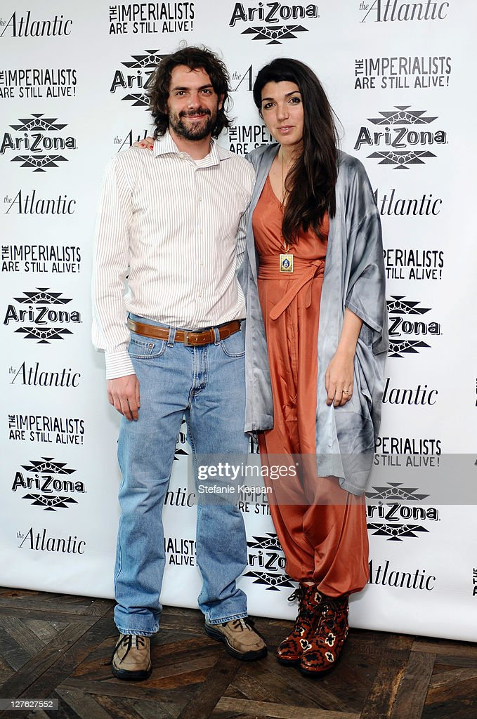 Jose Maria de Tavira and Zeina Durra attend The Atlantic Magazine And AriZona Beverages Los Angeles Premiere Of 'The Imperialists Are Still Alive!' at Soho House on April 19, 2011 in West Hollywood, California.