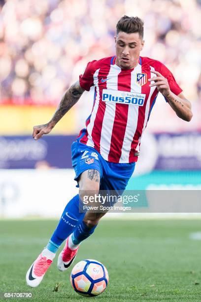Jose Maria Gimenez de Vargas of Atletico de Madrid in action during the La Liga match between Atletico de Madrid vs Osasuna at Estadio Vicente...