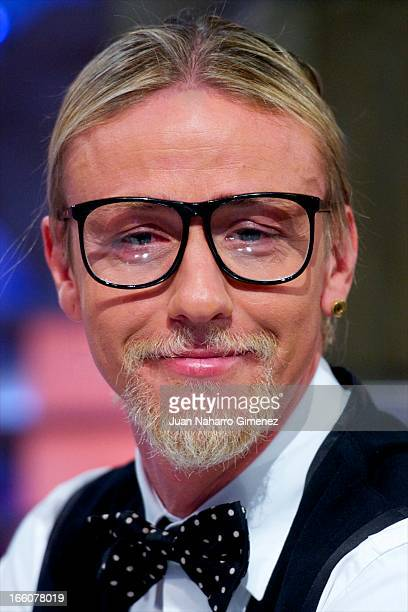 Jose Maria Gutierrez Hernandez attends 'El Hormiguero' Tv show at Vertice Studio on April 8 2013 in Madrid Spain