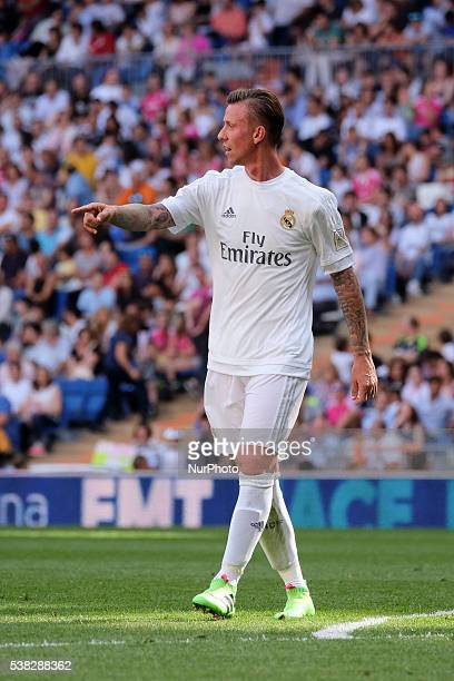 Jose Maria Gutierrez quotGutiquot of Real Madrid Legends in action during the Corazon Classic charity match between Real Madrid Legends and Ajax...