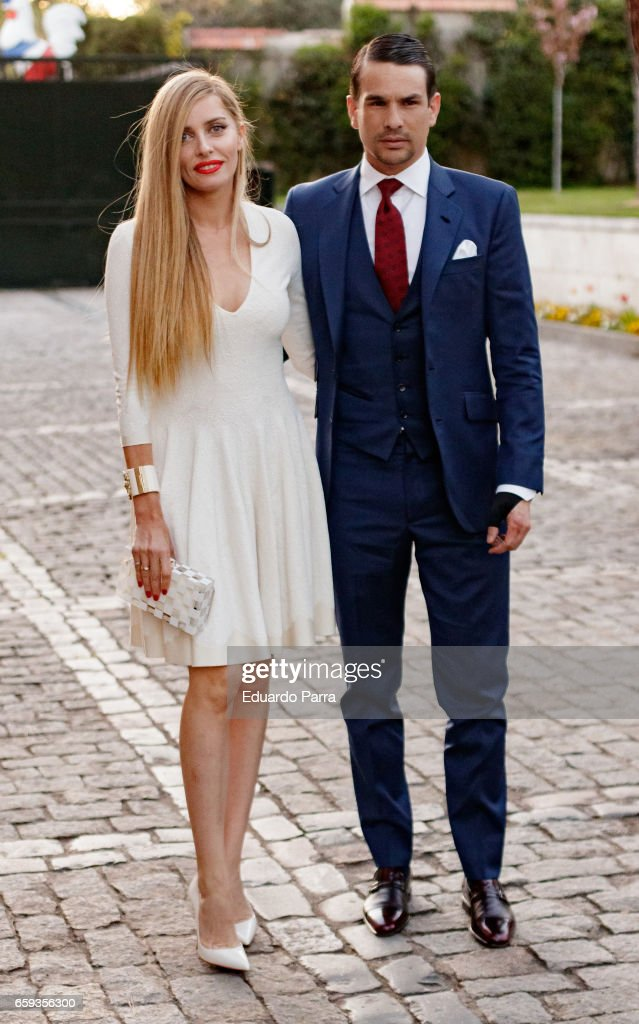 Jose Maria Manzanares and Rocio Escalona attend the 'Paul Ricard Bullfights Club' Awards 2017 at the Residence of the French ambassador on March 28, 2017 in Madrid, Spain.