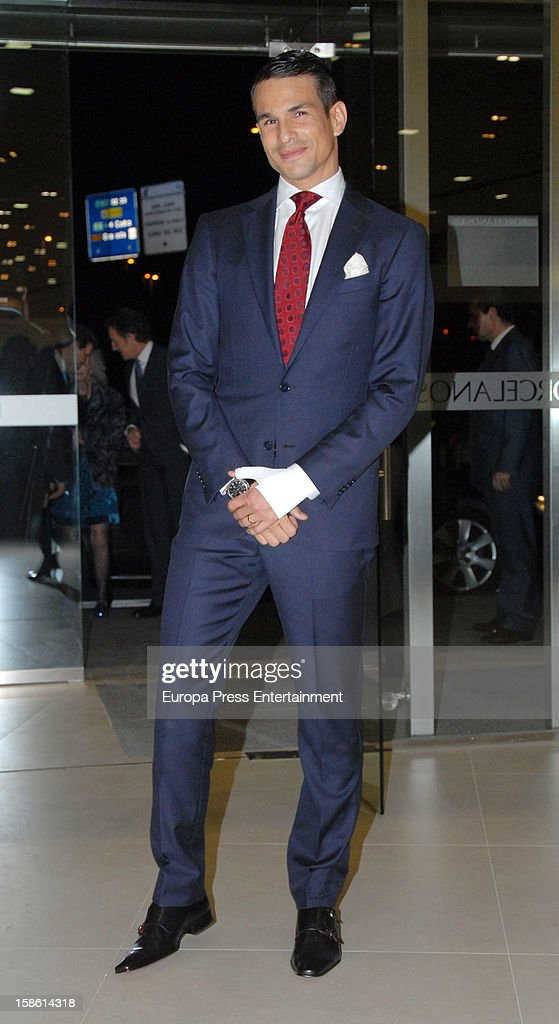 Jose Maria Manzanares attends the Porcelanosa new store opening on December 20, 2012 in Seville, Spain.