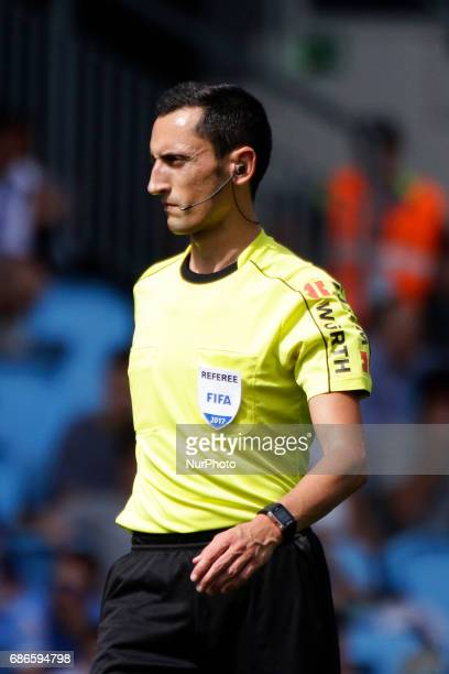 Jose Maria Sanchez Martinez during the La Liga Santander match between Celta de Vigo and Real Sociedad de Futbol at Balaidos Stadium on May 21 2017...