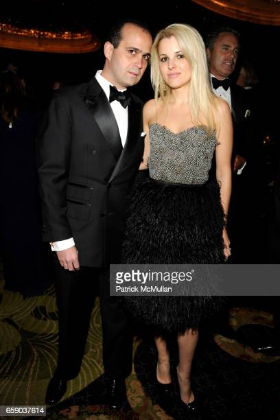 Jose Maria Trullo and Alexandra Vidal Trullo attend NEW YORKERS FOR CHILDREN Sixth Annual Spring Dinner Dance 'New Year's in April A Fool's Fete' at...