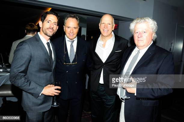 Jose Marty Lee Mindel David Zippel and guest attend the Decoration and Design Building celebrates the 2017 winners of the DDB's 10th Anniversary of...
