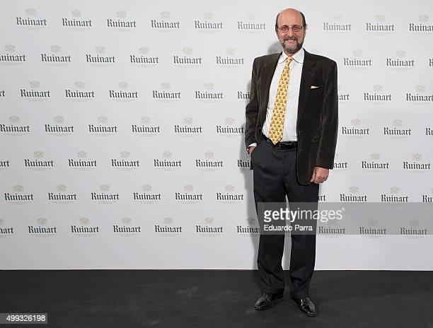 Jose Miguel Fernandez Sastro attends 'Dom Ruinart Rose 2002' party photocall at Principe de Vergara 9 on November 30 2015 in Madrid Spain