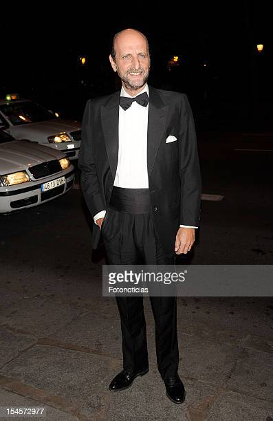 Jose Miguel Fernandez Sastron arrives to the 'Cartier Exhibition' gala presentation at the Museum Thyssen Bornemisza on October 22 2012 in Madrid...