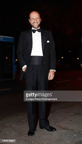Jose Miguel Fernandez Sastron attends 'Cartier Exhibition' gala presentation at Thyssen Museum on October 22 2012 in Madrid Spain
